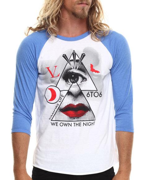 Vampire Life Blue T-Shirts