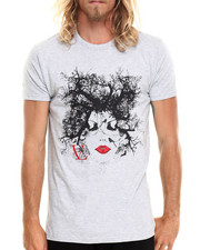 Shirts - Curled Girl T-Shirt