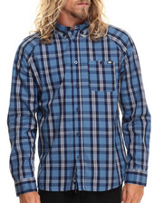 Ecko - Plaid L/S Button-Down