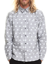 Ecko - Star Overprint L/S Button-Down