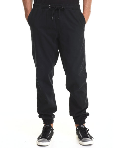 Ecko - Men Black Twill Jogger Pants