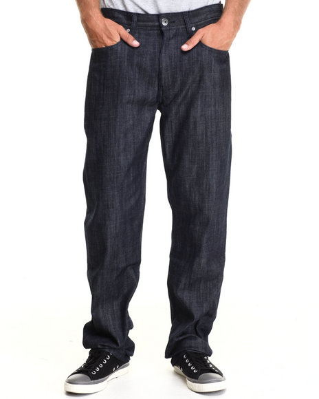 Ecko - Men Dark Wash Relaxed Fit Denim Jeans