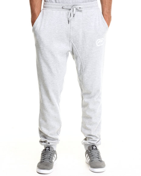 Ecko - Men Grey Fleece Jogger Pants