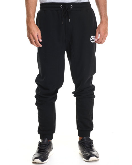 Ecko - Men Black Fleece Jogger Pants