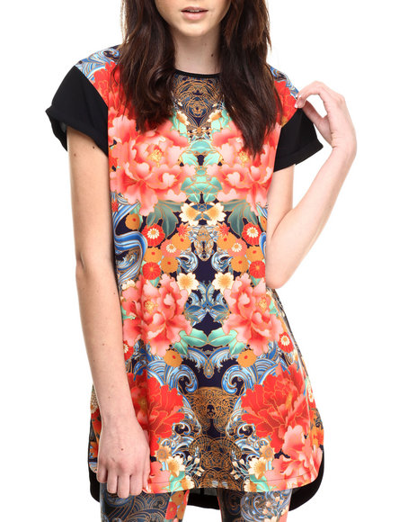Ur-ID 186283 MINKPINK - Women Multi Orient Express Dress