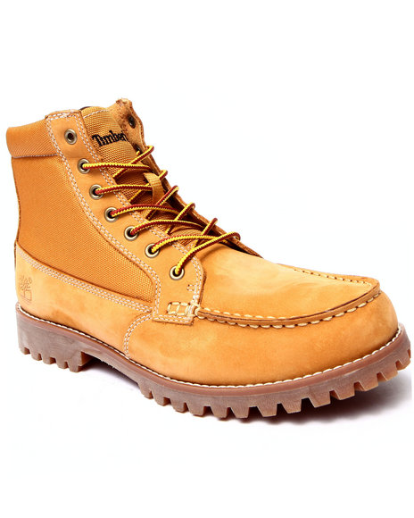 Timberland - Men Wheat Oakwell 8 Eye Moc Toe Boots