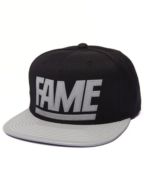Hall Of Fame Men 3Mf Snapback Cap Black