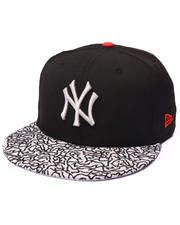 "Men - New York Yankees ""Streets are watching"" Elephant print custom 5950 fitted hat (Drjays.com Exclusive)"
