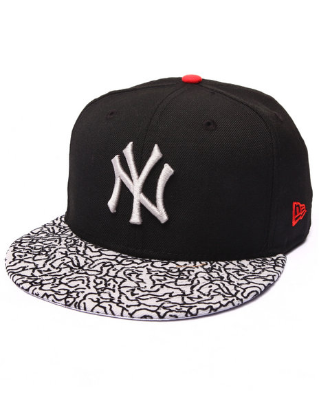 New Era - Men Black New York Yankees