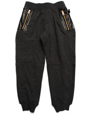 Bottoms - PU KNIT JOGGER (4-7)