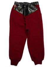 Sweatpants - PU KNIT JOGGER (2T-4T)