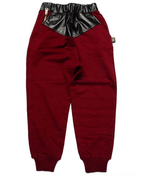 Akademiks Maroon Sweatpants