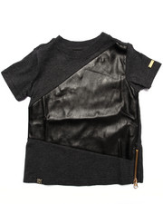 Sizes 2T-4T - Toddler - PU CREW NECK TEE (2T-4T)