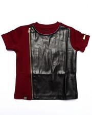 T-Shirts - PU CREW NECK TEE (2T-4T)