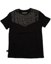 Sizes 8-20 - Big Kids - STUDDED YOKE TEE (8-20)