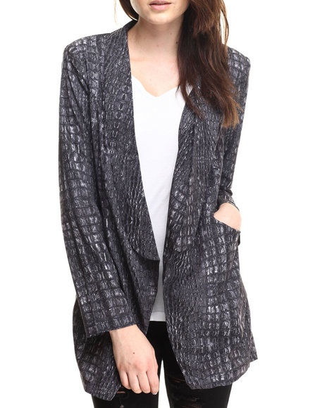 Evil Twin - Women Black Cold Blooded Blazer