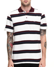 Men - Stripe Logo Polo