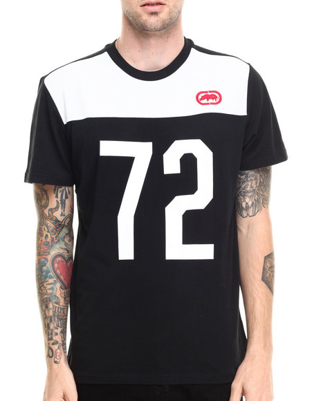 Ecko - Men Black 72 Poly Mesh T-Shirt