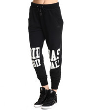 Bottoms - Loose Track Sweat Pants