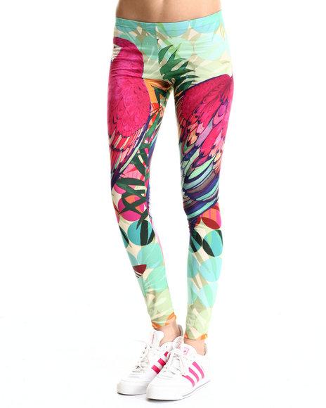 Adidas - Women Multi,Pink Arari Leggings - $45.00