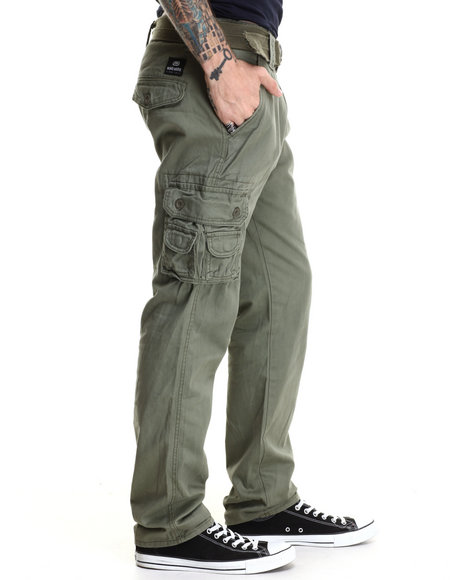 Ecko - Men Olive Twill Cargo Pants