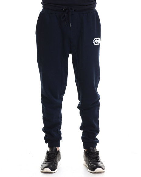Ecko - Men Navy Fleece Jogger Pants