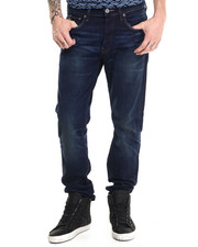 G-STAR - 3301 Straight Leg Faded Wash Jean