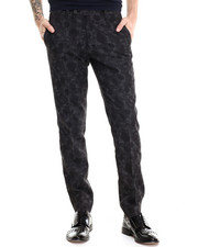 PLAC - Jacquard Turn-Up Pant