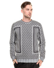 DJP OUTLET - KeFiah Houndstooth Sweatshirt