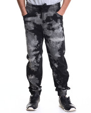 Men - Acid Denim Long - Pant Jogger