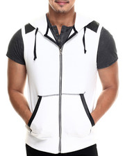 Buyers Picks - Zip front Sleeveless hoody