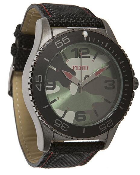 Flud Watches Men Rebel Watch Camo