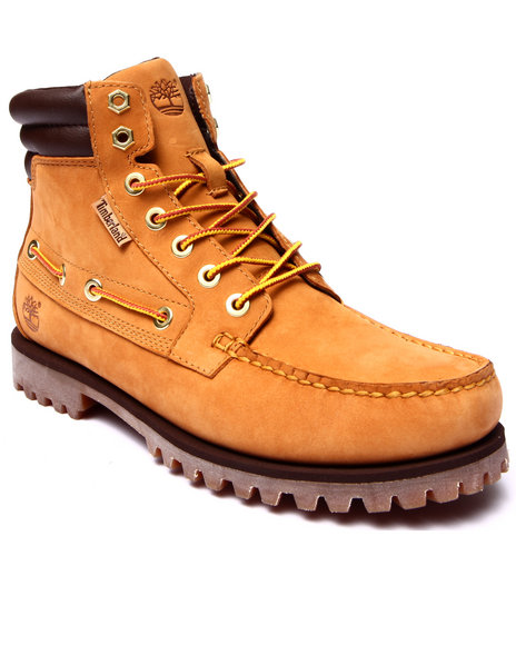 Timberland - Men Wheat Oakwell 7 Eye Moc Toe Boots