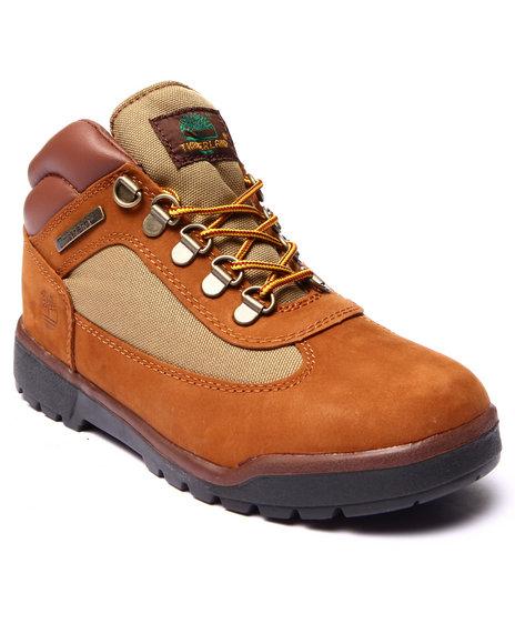 Timberland - Boys Tan Field Boots