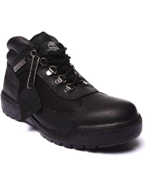 Timberland - Men Black Timberland Waterproof Field Boots - $129.95