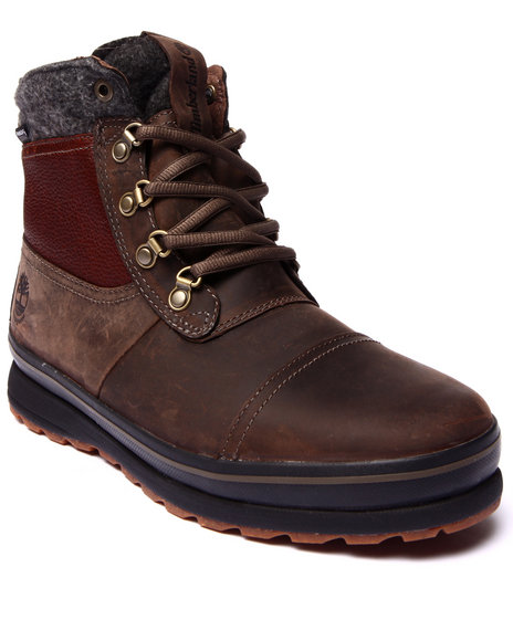 Timberland - Men Brown Earthkeepers Schazzberg Mid Waterproof Boots