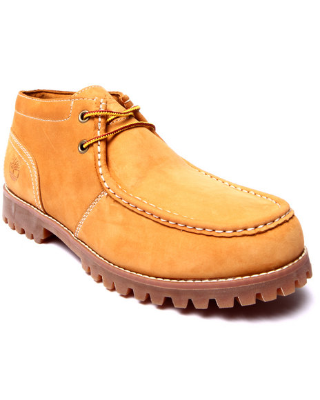Timberland - Men Wheat Oakwell Moc Toe Chukka Boots