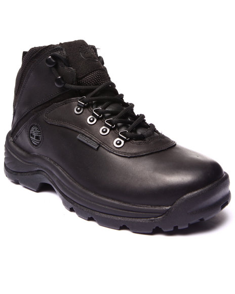 Timberland - Men Black White Ledge Waterproof Mid Boots