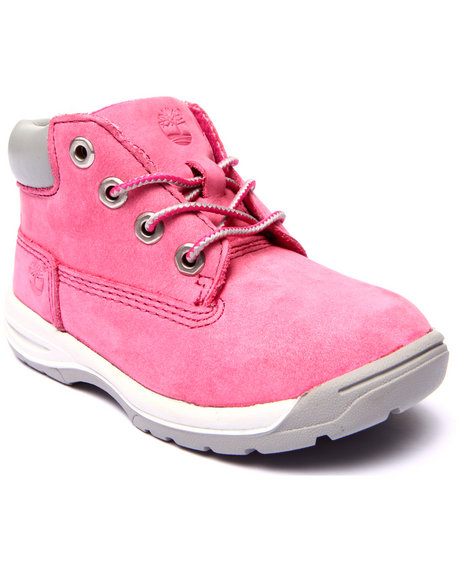 Timberland - Girls Pink Earthkeepers Timber Tykes Boots