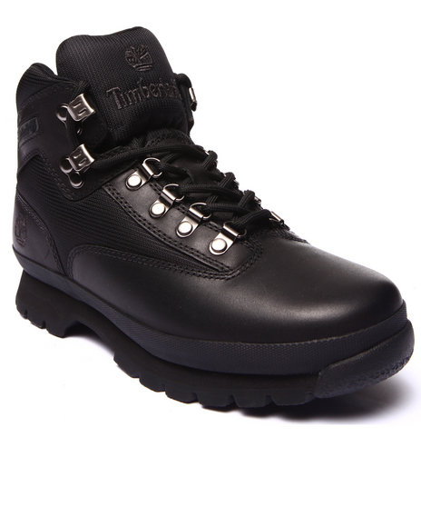 Timberland - Men Black Earthkeepers Euro Hiker Boots