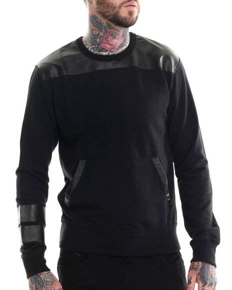 Buyers Picks - Men Black Madmax Multi Block Sweatshirt