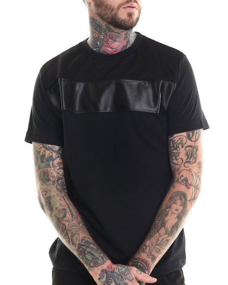 Buyers Picks - Men Black Tri-Star S/S Tee