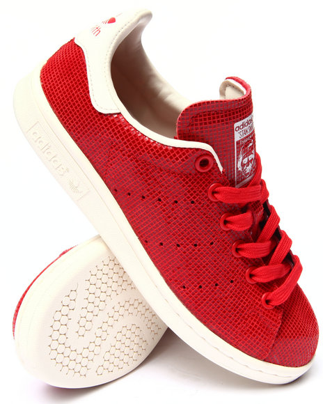 Adidas - Women Red Stan Smith W Sneakers