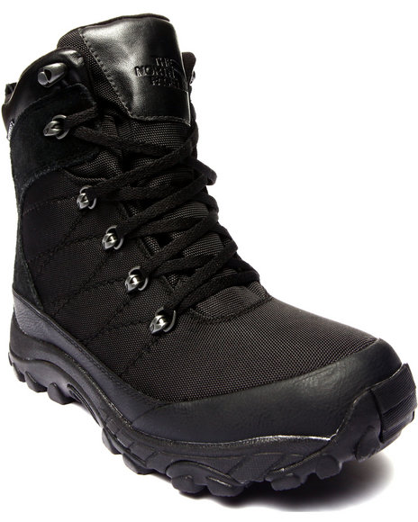 The North Face - Men Black Chilkat Nylon Waterproof Boots