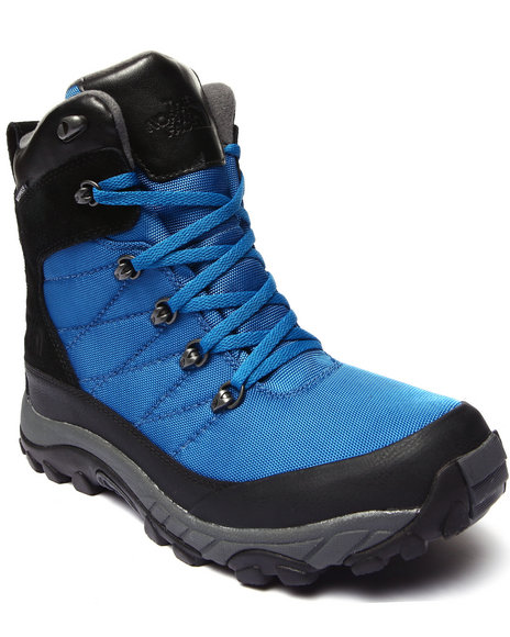The North Face - Men Black,Blue Chilkat Nylon Waterproof Boots