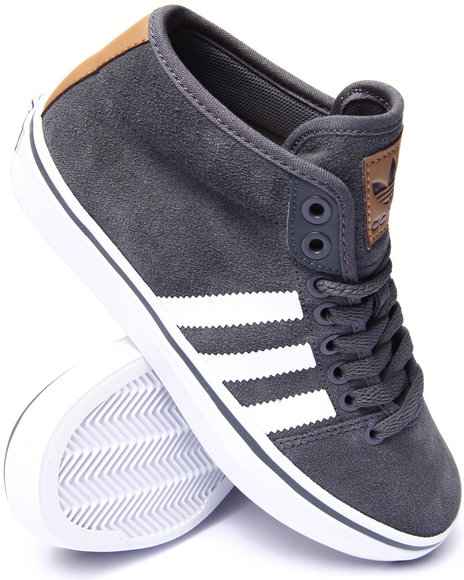 Adidas - Women Grey Adria Mid Sneakers - $65.00