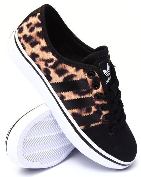 Adidas - Women Animal Print,Black Adria Lo W Sneakers