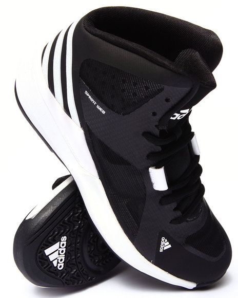 Adidas - Women Black,White Crazy Strike Basketball W Sneakers - $100.00