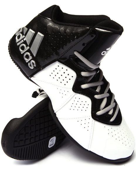 Adidas - Men Black,White Pro Smooth Feather Sneakers