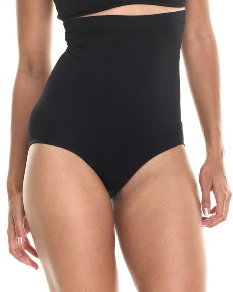 Drj Lingerie Shoppe - Women Black High Waist Tummy/Hip Shaper